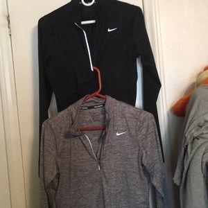 Nike long sleeve dri fit bundle